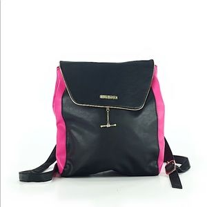 Juicy Couture black and pink backpack